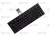 Оригинальная клавиатура для ноутбука Asus N46Vb series, rus, black, под подсветку