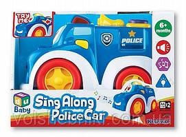 Полицейская машина с сигналом Keenway арт.12842
