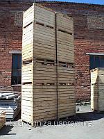 Контейнер деревянный под хранение овощей и фруктов (евростандарт)