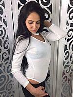 Женское боди (белый)