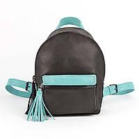 Рюкзак черно-мятный, фото 1