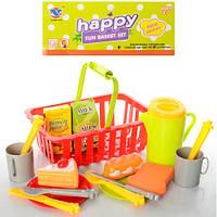 Игровой набор посуда с продуктами 14073B