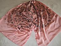 Шарф двойной Valentino шёлк 100% высокого качества