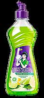 Средство для мытья посуды PORADA с ароматом Лайма и Лимона 0,5л