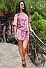 Платье штапельное на резиночке А16 (а)ГЛ