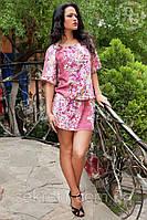 Платье штапельное на резиночке А16 (а)ГЛ, фото 1