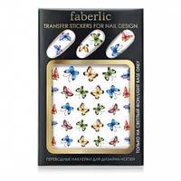 Переводные наклейки для дизайна ногтей. Мимолетность