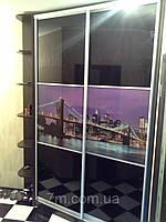 Шкаф купе 2 двери , с фотопечатью