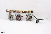 Животные  драконы, 4 вида, в пакете 16см (Животные 032A)
