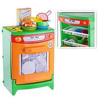 Игрушечная посудомоечная машина с реалистичными звуками и посудкой Орион