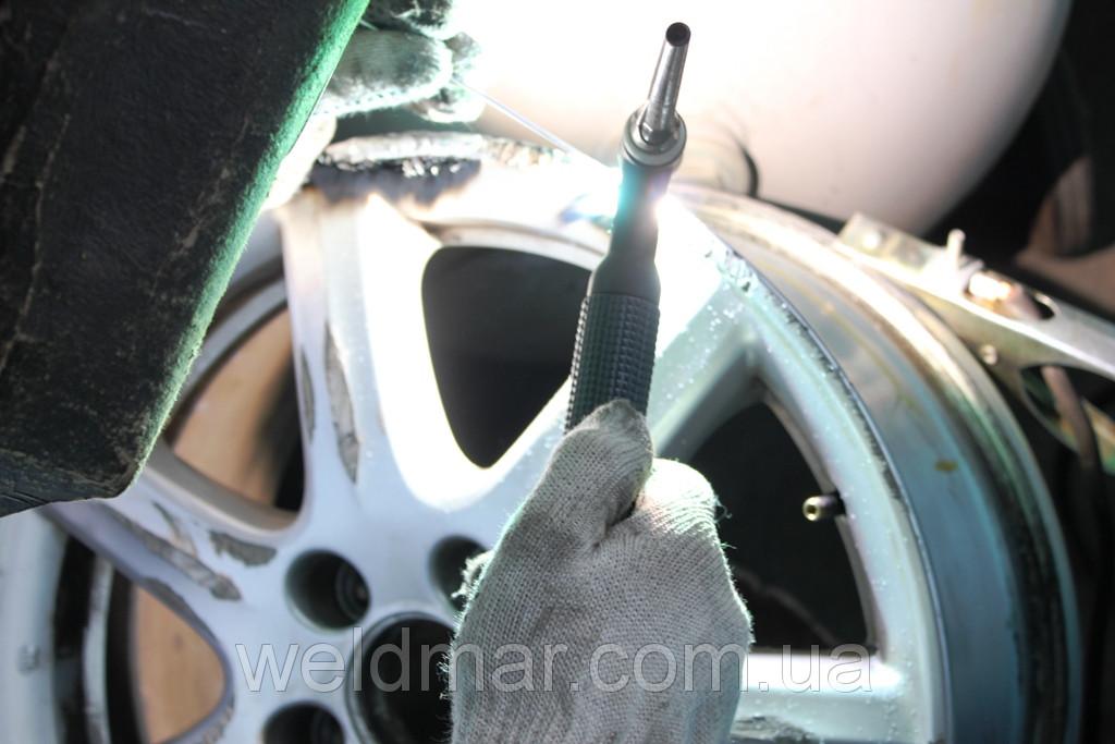 Ремонт сколів, тріщин алюмінієвих деталей двигуна