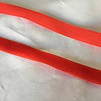 Лента-липучка красная (алая) петля+крючок, ширина 2 см