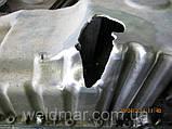 Ремонт сколів, тріщин алюмінієвих деталей двигуна, фото 2