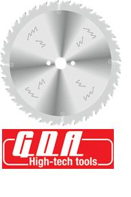 Пильный диск для продольного пиления древесины D = 500 мм (GDA, Италия)