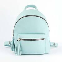 Нежно-мятный рюкзак - М, фото 1