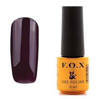 Гель-лак F.O.X  6 мл pigment №102 (черно-баклажановый)