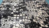 Плед акриловый двойной TRUE LOVE камни серые