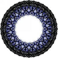 Синие линзы для зрения, фото 1