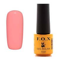 Гель-лак F.O.X  6 мл pigment №144 ( яркий розовый коралл)