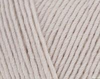 Пряжа Cotton Baby Soft молочно-бежевый №67 полухлопок для ручного вязания