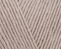Пряжа Cotton Baby Soft бежевый №543 полухлопок для ручного вязания