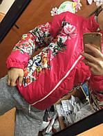 """Женская куртка """"Цветы"""", фото 1"""