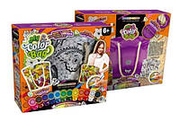 Набор Сумка - раскраска My Color Bag БАБОЧКА Danko Toys