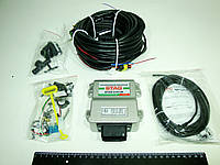 Электроника Stag 4+ (Блок управления, дат. ур. топ., мап., кнопка, проводка)