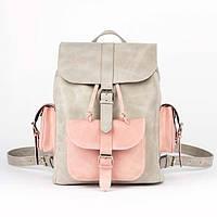 Рюкзак серо-розовый Орландо - New York, фото 1