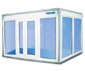 Камеры холодильные стекло