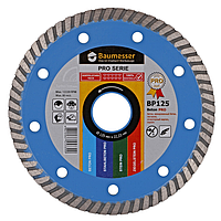 Алмазный диск по бетону Baumesser 125мм 22,2мм Turbo Beton PRO