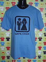 Футболка Game over (свадебные футболки)