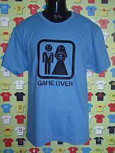 Футболка Game over (весільні футболки)