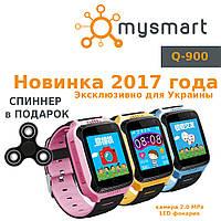 Детские GPS часы Q-900 с камерой и фонариком