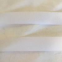 Лента-липучка белая комплект петля+крючок, ширина 3 см, фото 1