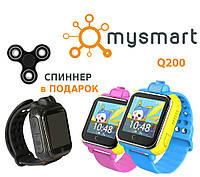 Q200 детские GPS часы c камерой и 3G Sim