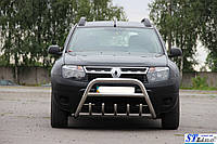 Защита переднего бампера (кенгурятник)  Honda CR-V 2012+