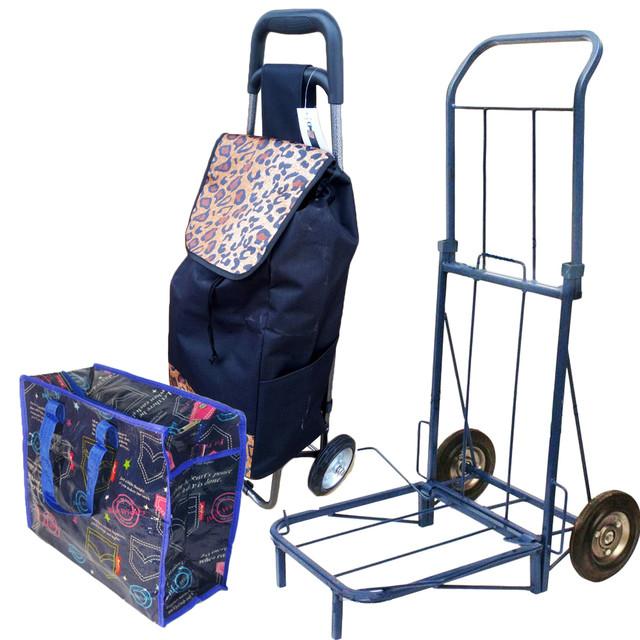 Сумки хозяйственные, тележки-кравчучки, сумки на колесах