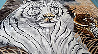 Плед акриловый двойной TRUE LOVE пара тигров