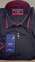 Мужская рубашка с коротким рукавом Passero однотонная