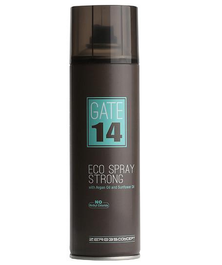 Эко лак сильной фиксации GATE 14  Emmebi Eco Spray strong, Эммеби,300 мл