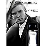 Carolina Herrera CHIC men EDT 100 ml TESTER  туалетная вода мужская (оригинал подлинник  США), фото 3
