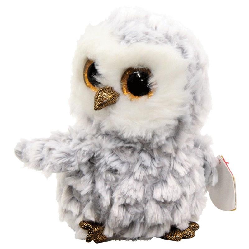 М'яка іграшка TY Біла Сова Owlette 15 см