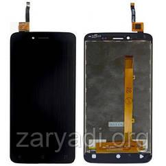 Дисплей LCD Fly FS505 Nimbus 7 + touch Black Original
