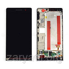 Дисплей LCD Huawei Ascend P6 + touch Black