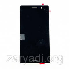 Дисплей LCD Huawei Ascend P7 + touch + frame Black