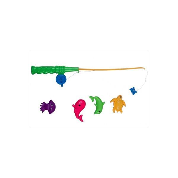 Рыбалка для детей,  2 удочки и рыбки на магнитах, игрушка