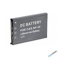 Аккумулятор CASIO NP-20 3.7v 1200 mAh Li-Ion