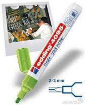 Маркер меловой edding e-4095 Window 2-3мм, салатовый