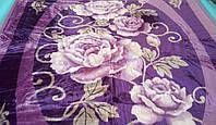 Плед акриловый двойной TRUE LOVE роза фиолет